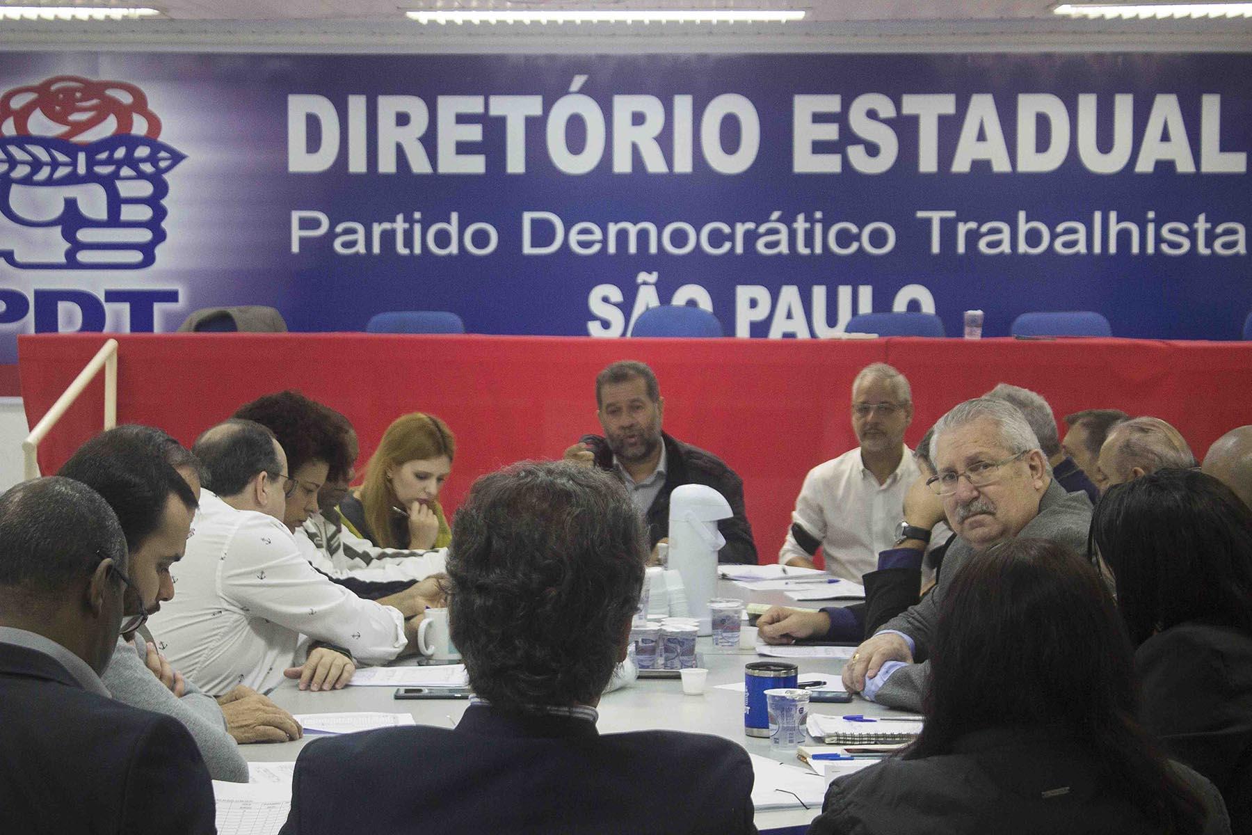 Reunião da Executiva Estadual PDT de São Paulo (03/06/2019)